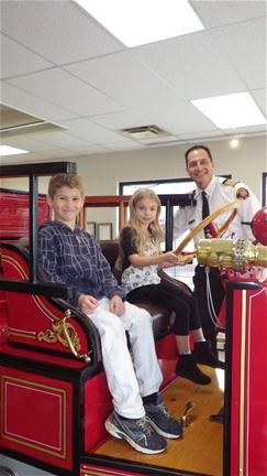 Fire Chief for a Day Winners