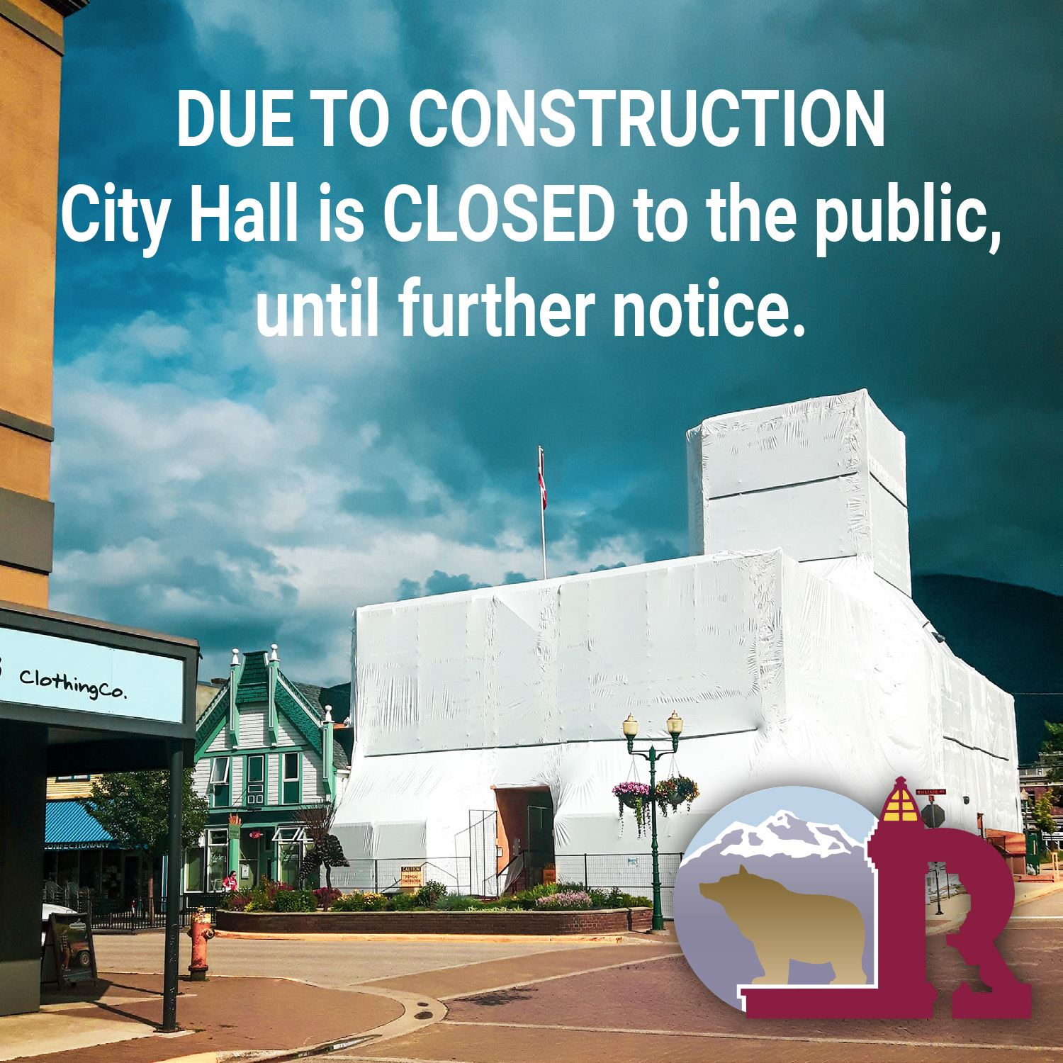 City Hall Closed_Construction